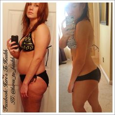 Weightloss and Thyroid Health. Bye bye Cellulite! Before and after fitness :)
