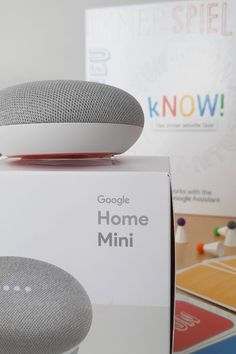 Ravensburger kNOW! mit Google Home Mini Google Home, Mini, Parenting, School