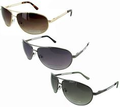Kenneth Cole Classic Aviator Sunglasses (3 Styles) $18.99 (ebay.com)