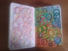 atividade de artes com círculos - Pesquisa Google