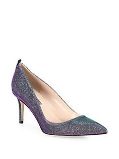 SJP by Sarah Jessica Parker - Fawn Shimmer Point-Toe Pumps