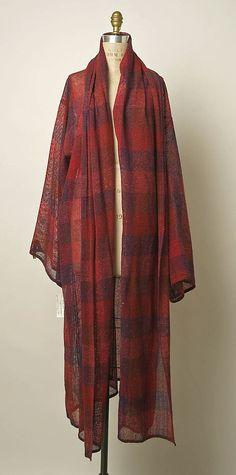 Coat  Giorgio di Sant'Angelo  (American, born Italy, 1933–1989)
