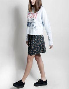 Felpa 'Don't Stop the Music' flechas Shana 9,99€ www.shana.com #fashion #trends #clothes