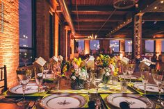 Wedding Reception with Downtown Chicago Views at City View Loft