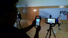 TOUCH this image: Shooting the Peak 10 workout with the iOgrapher by iOgrapher