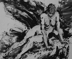 Life Monotypes etching by Ian Hopton - paintings, drawings and life monotype. Artist in France