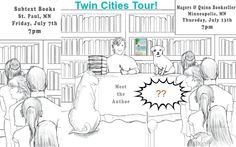 The Book Tour, Part 2: Where's Madeleine? #indiebooks #Minneapolis #StPaul #indiebookstores #memoir #travel