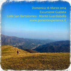 Domenica 16 marzo #escursione da Colle San Bartolomeo a Monte Guardiabella - Riviera dei Fiori - #Liguria. Sunday 16 march hiking trip from Colle San Bartolomeo to Mount Guardiabella - Italian Riviera - Liguria. http://wp.me/p49RbZ-2X