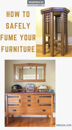 When one looks at Craftsman style furniture, several features stand out. First is the solid heaviness of the design—this is not furniture you casually slide across the room. Second is the cut of the wood: it's often quarter sawn white oak and as such, the beautiful rays crossing the grain stand out with each piece as unique as a snowflake. Lastly is the wood's color; a beautiful, deep, honey-brown tone. Woodworking Books, Woodworking Projects, Projects For Kids, Diy Projects, Craftsman Style Furniture, Quarter Sawn White Oak, Diy Home Furniture, Wood Working For Beginners, Design