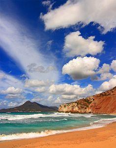 #Buggerru, #Sardinia  #Italy #beach #travel #sardegna