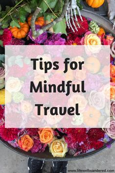 The Art of Mindful Travel: In this day in age, it's hard to imagine traveling without putting every moment on social media. To me, that makes travel less meaningful. Follow these tips for mindful travel to get more out of your travel experiences.