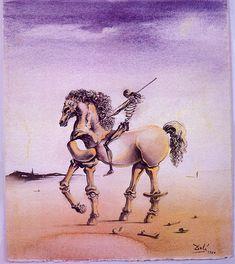 Cavallo Metafisco - Dali Salvador