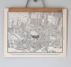 Montreal 1930s Map / Antique Canada City Map by reclaimer on Etsy, $14.00