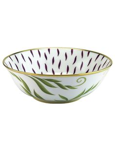 "Bernardaud ""Frivole"" Salad Bowl"