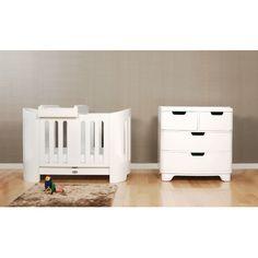 bloom Luxo Sleep Crib in White