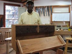 Finished Tool Storage, Storage Chest, Heritage School, Storage Containers, Tool Box, Drawers, Woodworking, Tools, Furniture