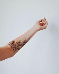10 x Inspiratie // Wildflower Tattoos -