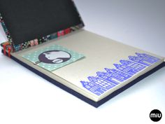 MIU   encadernação artesanal: encadernação japonesa   Japanese Stab bind