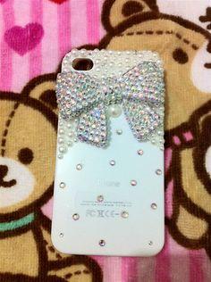Handmade iPhone case iPhone 4 case iPhone 4 cover by topjewelry, $21.00