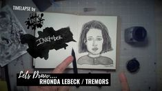 We Draw Rhonda Lebeck from Tremors - Bad Ass Ladies of Horror - Inktober 2018 - Timelapse Art Inktober, Horror, Polaroid Film, Draw, Let It Be, Sketches, Painting, To Draw, Drawing