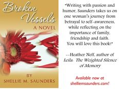 Broken Vessels testimonial from author Heather Neff.