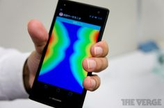 Hands-on with Docomo's squeeze-based smartphone UI(video)