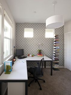 Modern Home Office Photos Design, Pictures, Remodel, Decor and Ideas - page 13