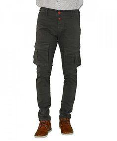 Ανδρικό υφασμάτινο παντελόνι με πλαϊνές τσέπες γκρι Madmext 2189R #ανδρικάπαντελόνια #υφασμάτινα #μόδα #ρούχα #στυλ #χρώματα Parachute Pants, Fashion, Moda, Fashion Styles, Fashion Illustrations