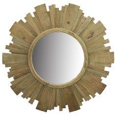 Reclaimed Wood Frame Mirro