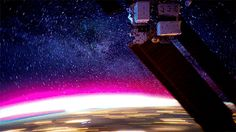 International space station traveling... clic on it