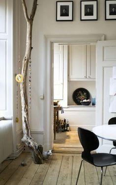 WABI SABI Scandinavia - Design, Art and DIY.: DIY med en gren, lite snören och annat smått och gott