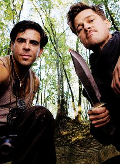 malditos bastardos on imdb movies tv celebs and more eli roth brad pitt in inglourious basterds 2009