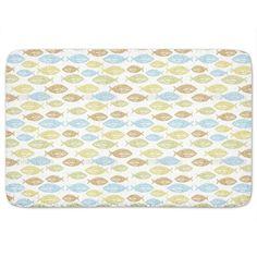 Uneekee Pacific Fish Bath Mat