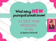 A free e-book for all first year principals.  What Every New Principal Should Know.
