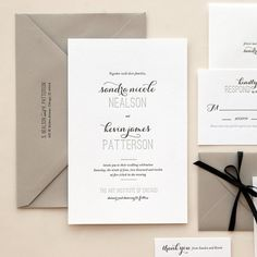Classic Oversized Black and White by KimberlyFitzSimons on Etsy, $5.00 really like the differences in font and classic look. add a little bit of gold and it would be perfect.
