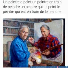 Check out: Funny Memes - Painting in a painting. One of our funny daily memes selection. We add new funny memes everyday! Optical Illusion Photography, Wtf Fun Facts, Random Facts, Just For Laughs, Mind Blown, Funny Pictures, Creative Pictures, Amazing Pictures, Cool Stuff