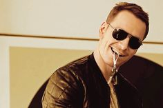 And Michael Fassbender toying with his keys in his mouth. | Can You Make It Through This Post Without Drooling?