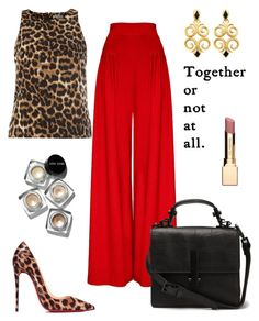 """""""Strong!"""" by schenonek on Polyvore featuring moda, Christian Louboutin, Alice & You, Hebe Studio, Bobbi Brown Cosmetics y Clarins"""