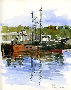 Rockport and Gloucester | Urban Sketchers