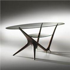 Carlo Mollino coffee table, model #1114