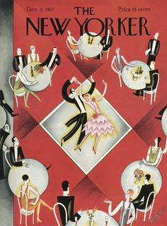 The New Yorker - Saturday, December 3, 1927 - Issue # 146 - Vol. 3 - N° 42 - Cover by : Constantin Alajalov