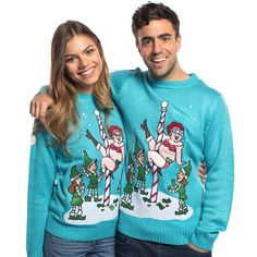 5c1d3c80b1b82 22 Best Funky Christmas Jumpers images | Christmas jumpers ...