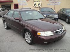 2002 Used Mazda 626 4dr Sedan ES V6 Automatic at Best Choice Motors Serving Tulsa, OK, IID 14089233