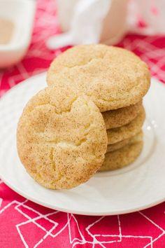 Vegan Snickerdoodles | mycaliforniaroots.com | #vegan #cookies #recipe