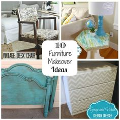 Attirant 10 Furniture Makeover Ideas