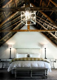 Fashionable attic - lovely picture