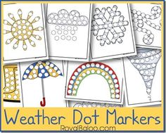 I just couldn't let the weather theme go by so quickly. It's too much fun!! I had to make some Weather Dot Marker Pages! So much fun for identifying the different types of weather. Weather Dot Marker Pages And I love dot markers! They're so simple but provide endless amounts of learning and fun. And …
