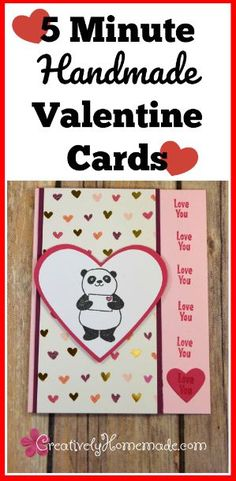 97 Best Hearts Love Images On Pinterest Diy Cards Homemade Cards