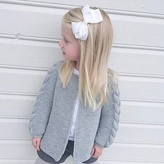Ravelry: Nordic Spring Jacket pattern by Knit By TrineP Knitting For Kids, Baby Knitting Patterns, Bindi, Spring Jackets, Jacket Pattern, Knit Jacket, Lana, Ravelry, Clothes