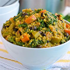 Curried Vegetable Stew with Quinoa